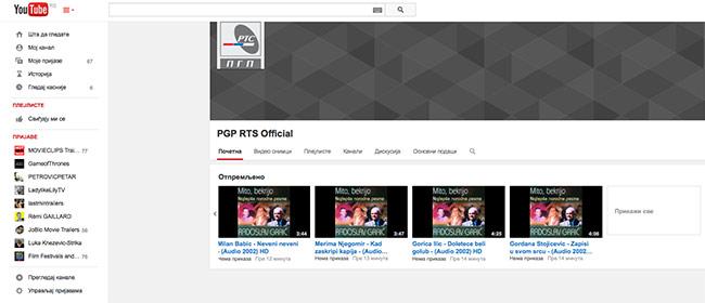 150.000 domaćih pesama na Youtube
