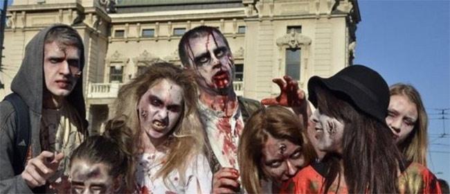 Zombi parada u Beogradu
