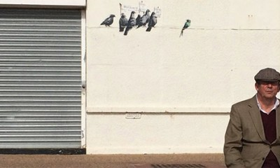 Banksy NIJE uhapšen danas  %Post Title