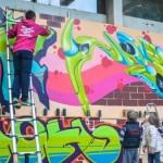 Rapresent - grafiti mural na Lionu