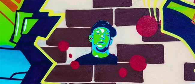 Rapresent – grafiti mural na Lionu