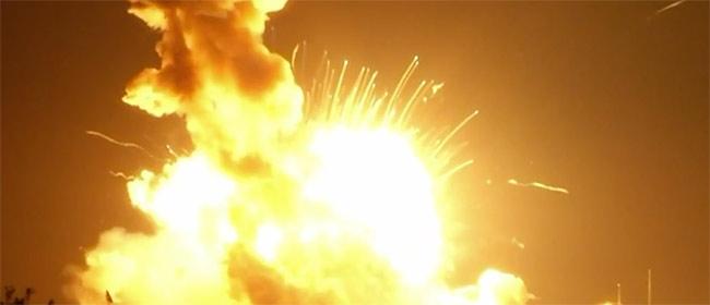 NASA: Eksplodirala raketa