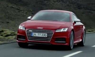 Ložačka reklama za Audi TTS  %Post Title