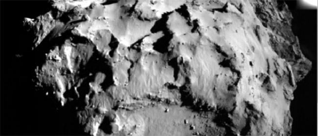 Sleteli smo na kometu
