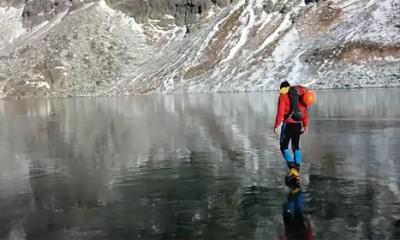 Ovako prozirno zaleđeno jezero još niste videli  %Post Title