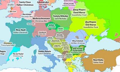 Kako sve Evropljani zovu Deda Mraza