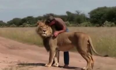 Čovek i lav najbolji prijatelji  %Post Title