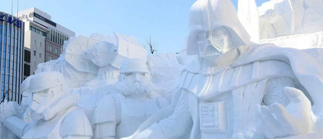 Ratovi zvezda u snegu