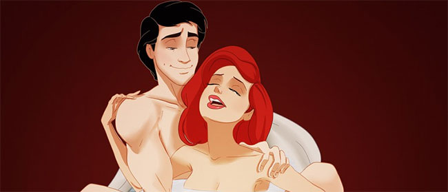 Disney verzija seksa iz 50 nijansi
