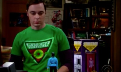 Sheldon i ekipa se pozdravili sa Mr. Spockom  %Post Title