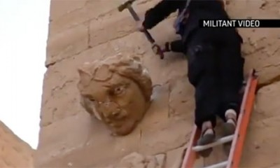 Bolesnici uništili i drevnu Hatru  %Post Title
