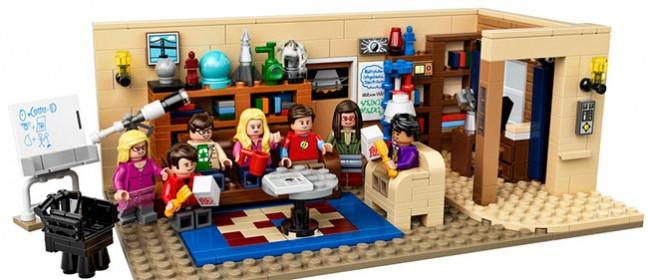 The Big Bang Theory Lego komplet