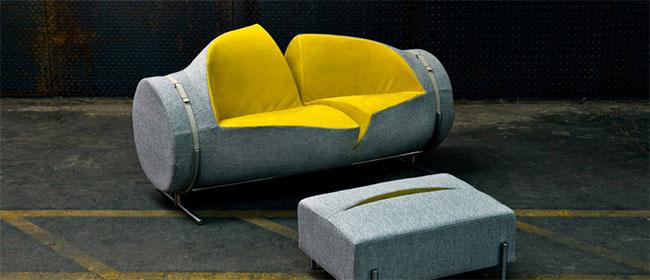 Isečena sofa