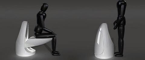 Futuristički toalet