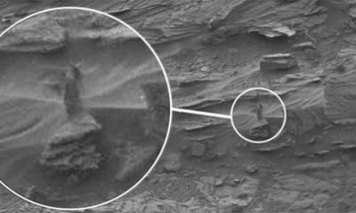 Šta je to snimljeno na Marsu?