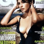 Monica Bellucci za ruski GQ