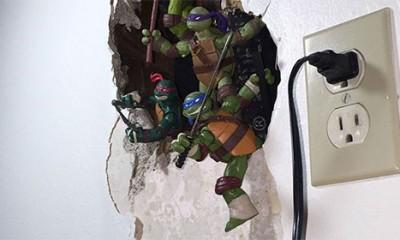 Kako da popraviš rupu u zidu na kreativan način