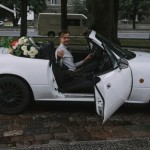Sama je slikala svoje venčanje