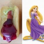 Disney princeze kao hot dogovi