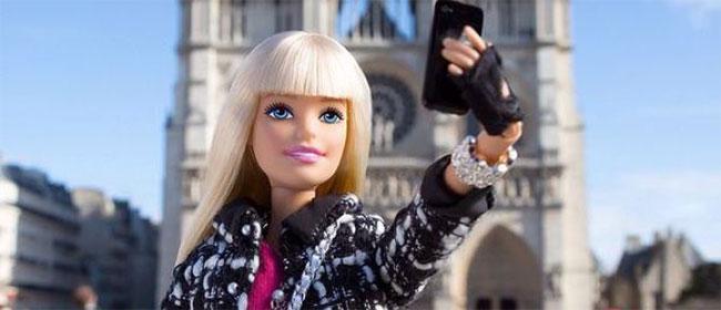 Barbie je na instagramu