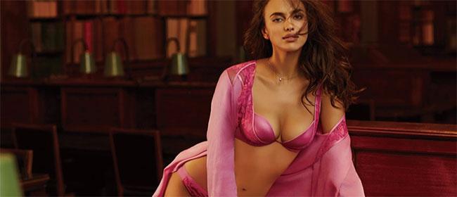 Irina Shayk u seksi vešu