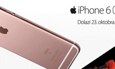 Novi iPhone 6s i iPhone 6s Plus telefoni dostupni u Srbiji