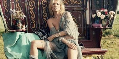 Kate Moss kao cigančica