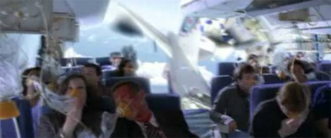 Zastrašujuće fotografije iz Air France aviona