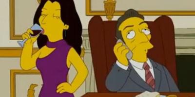Simpsonovi kod Nikolasa i Karle