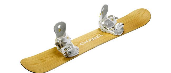 Chanel za snowboarding