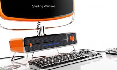 Retro PC koncept