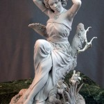 Skoro-pa-žive skulpture