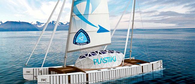 Plastiki - Reciklirani brod