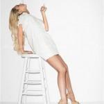 Lindsay Lohan u donjem vešu