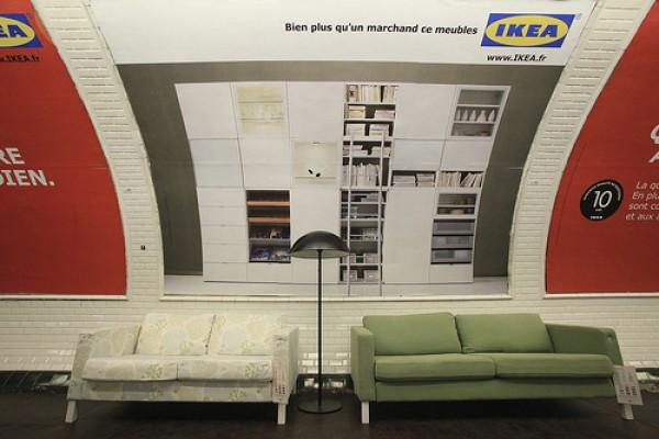 Ikea u metrou  Domino magazin