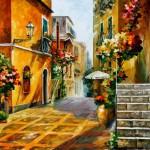 Prelepe slike Leonida Afremova