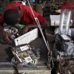 Elektronski horor u Gani