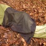 Jakna, šator i vreća za spavanje u jednom