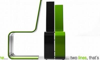 Uređenje bašte - Stolica iz dve linije  %Post Title