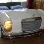 Krevet od starog Mercedesa
