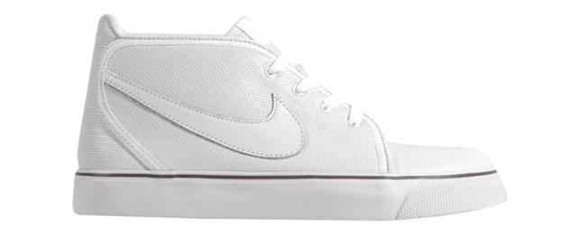 Bele kožne Nike