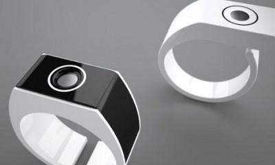 Prsten koji pokazuje UV zračenje