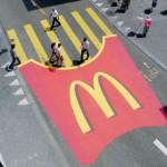 McDonald's ulična kampanja