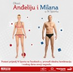 Obuci Anđeliju i Milana u N Sport-u