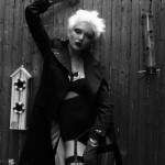 Crno bela modna fotografija