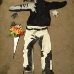 Prerušio se u Banksy-jev crtež  %Post Title