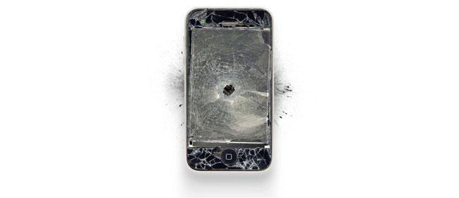 Uništeni Apple proizvodi