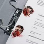 Krvav kancelarijski materijal