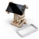 Drveno postolje za iPhone
