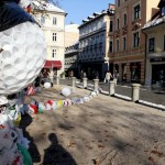 Veliki plastični monstrum u Ljubljani